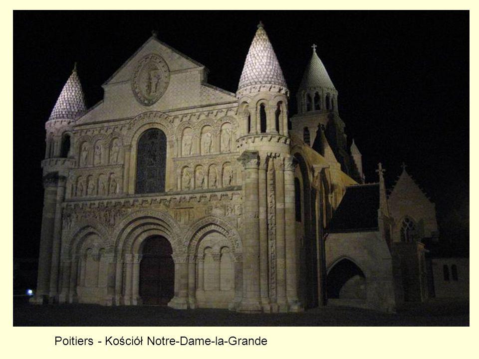 Poitiers - Kościół Notre-Dame-la-Grande