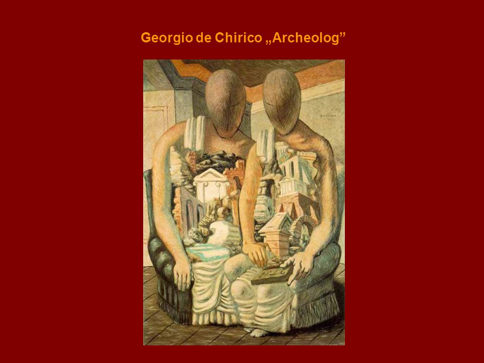 Georgio de Chirico Archeolog