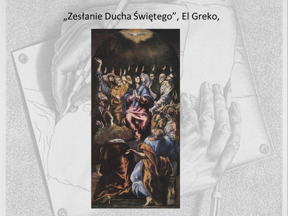 Zesłanie Ducha Świętego, El Greko,