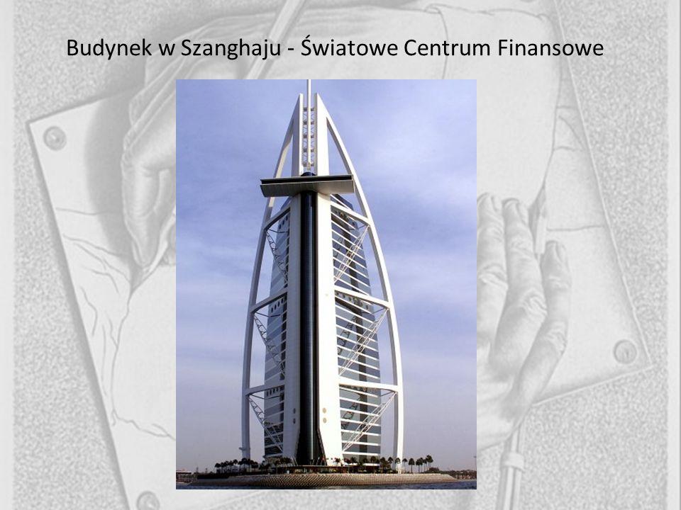 Budynek w Szanghaju - Światowe Centrum Finansowe