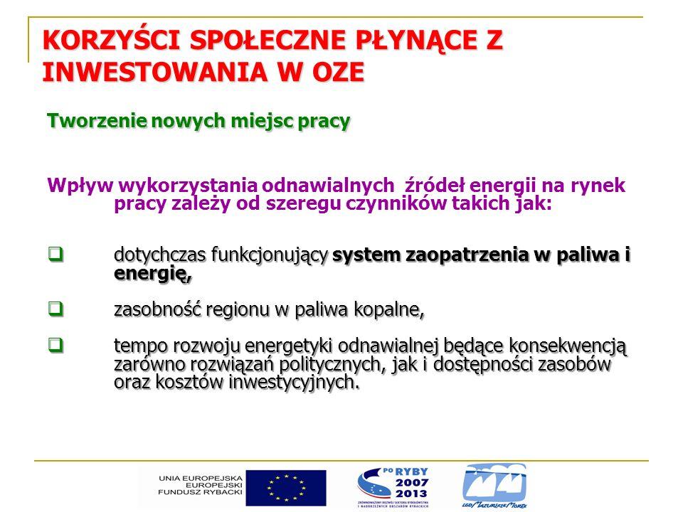 Tworzenie nowych miejsc pracy Pracując dla KLIMATU Raport Greenpeace u wykonany przez firmę doradczą Primum Do 2020 roku w energetyce odnawialnej w Polsce może powstać 350 tys.