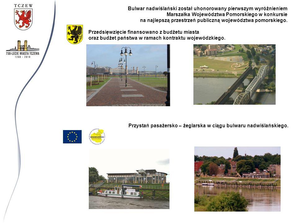 Bulwar nadwiślański został uhonorowany pierwszym wyróżnieniem Marszałka Województwa Pomorskiego w konkursie na najlepszą przestrzeń publiczną województwa pomorskiego.