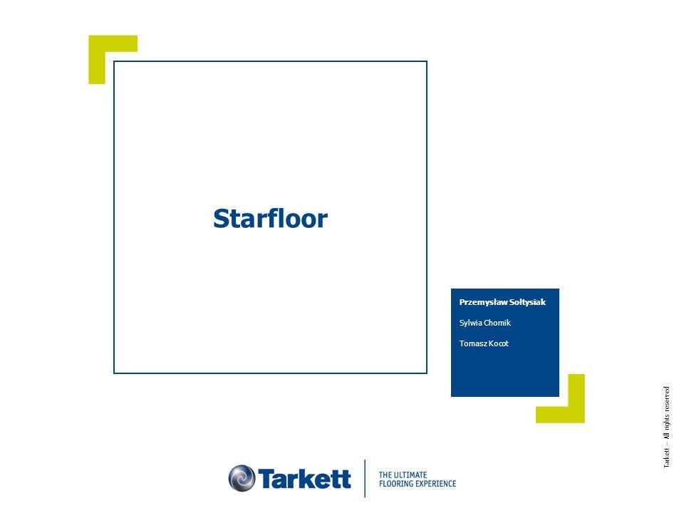 dd mmmm yyyyTitle of the presentation 2 O firmie Tarkett Firma Tarkett, jako pionier w historii produkcji wykładzin i podłóg, wnosi międzynarodowe doświadczenie i bogactwo innowacji w rozwój różnego rodzaju podłóg i pokryć podłogowych.
