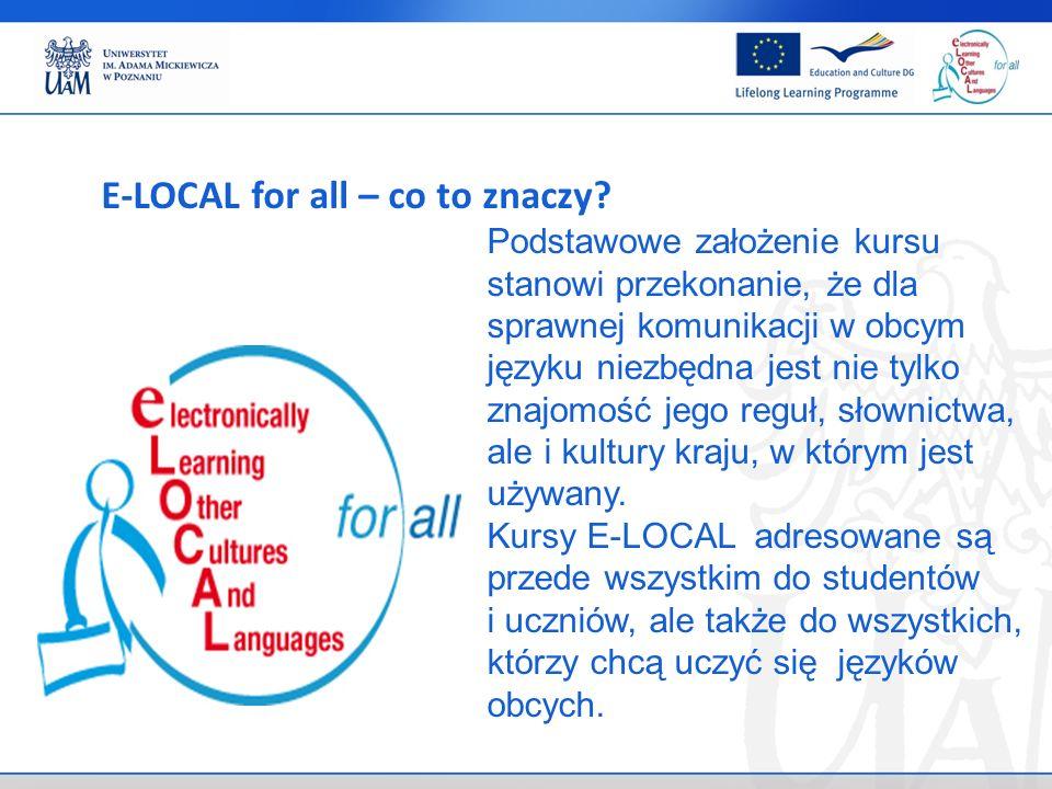 . e-Language exercise Umiejętność mówienia