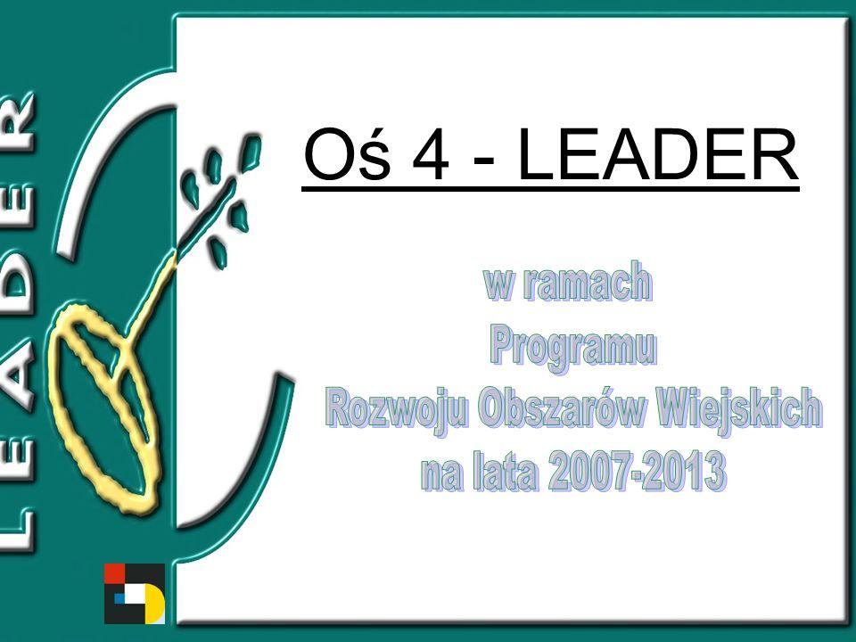 Oś 4 - LEADER