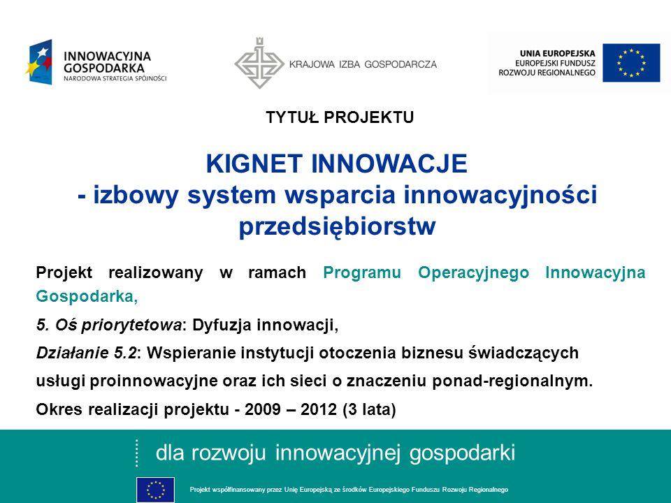 dla rozwoju innowacyjnej gospodarki Projekt współfinansowany przez Unię Europejską ze środków Europejskiego Funduszu Rozwoju Regionalnego Inicjatywy i możliwości uzyskania wsparcia w Sieci KIGNET Innowacje SEMINARIUM POPRAWA PEWNOŚCI ZASILANIA W ENERGETYCE PRZY WYKORZYSTANIU ŹRÓDEŁ ODNAWIALNYCH Bielsko-Biała, 27 Maja 2010