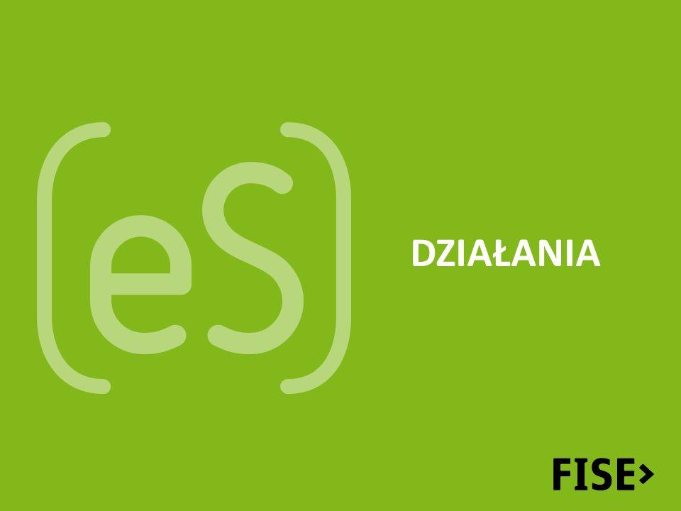 Promocja eS analizujemy dobre praktyki ekonomii społecznej – tworzymy Atlas Dobrych Praktyk (FISE) prowadzimy portal ekonomiaspoleczna.pl (FISE) przeprowadzimy dwie edycje konkursu w którym nagrodzone zostaną najlepsze przedsięwzięcia z zakresu ekonomii społecznej (FISE)