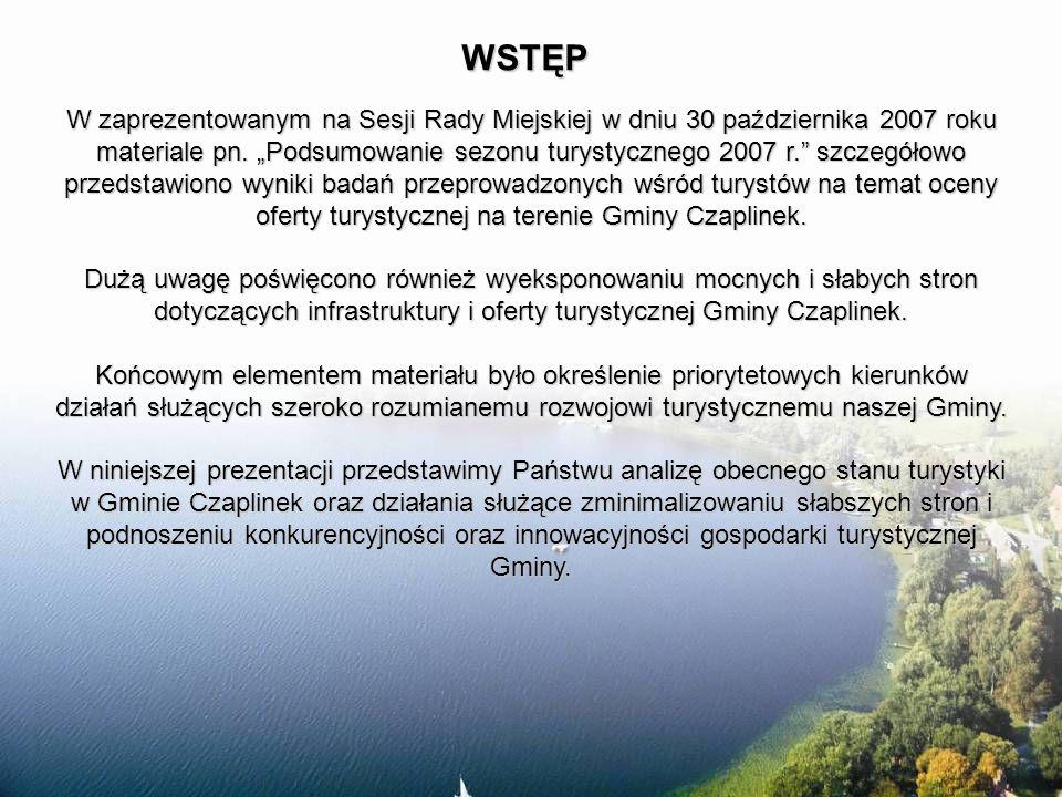 Promocja Gminy na portalach internetowych Wrota Czaplinka Miasta Turystyczne Kamera internetowa