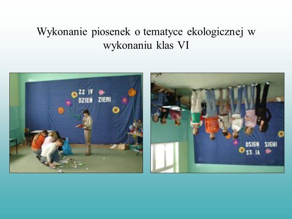Prezentację wykonała organizatorka Dnia Ziemi w Publicznej Szkole Podstawowej w Skórczu mgr Joanna Malinowska