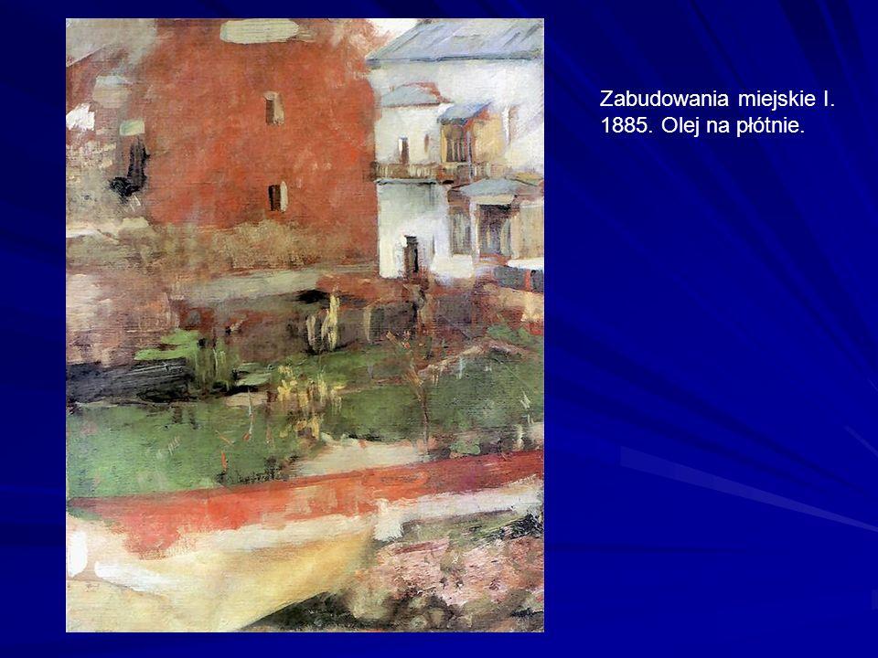 Martwa natura z wazą. 1918. Olej na tekturze