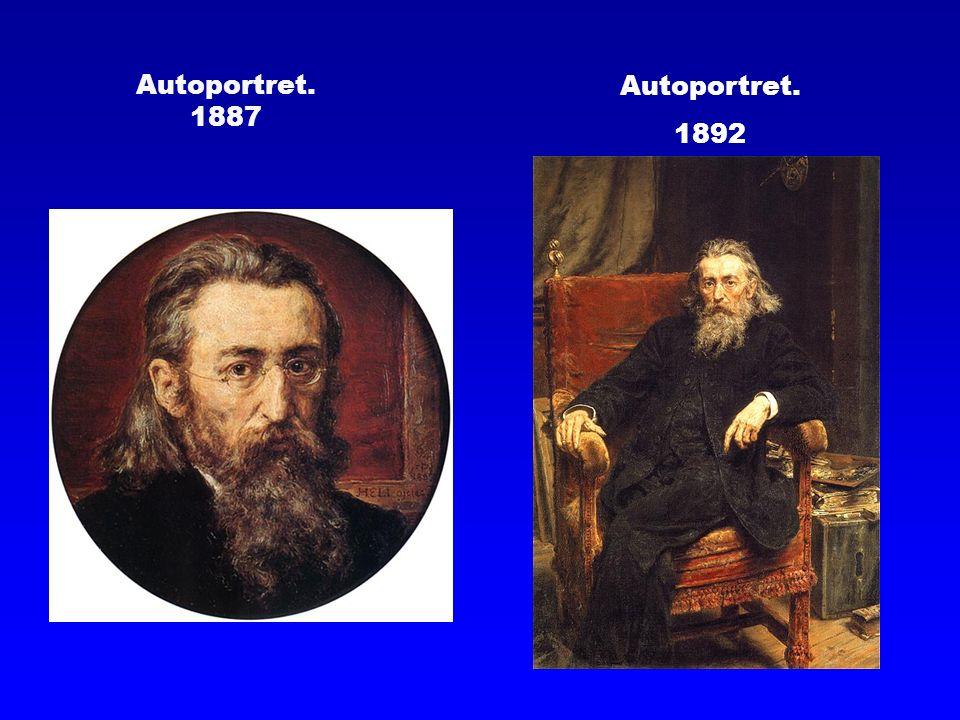 Autoportret. 1887 Autoportret. 1892