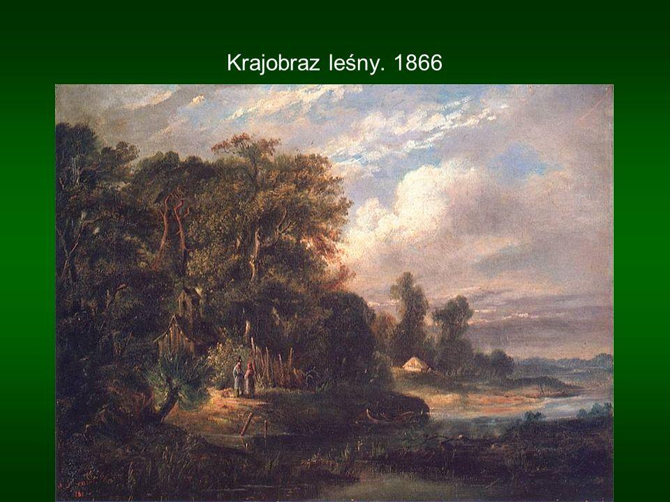Krajobraz leśny. 1866