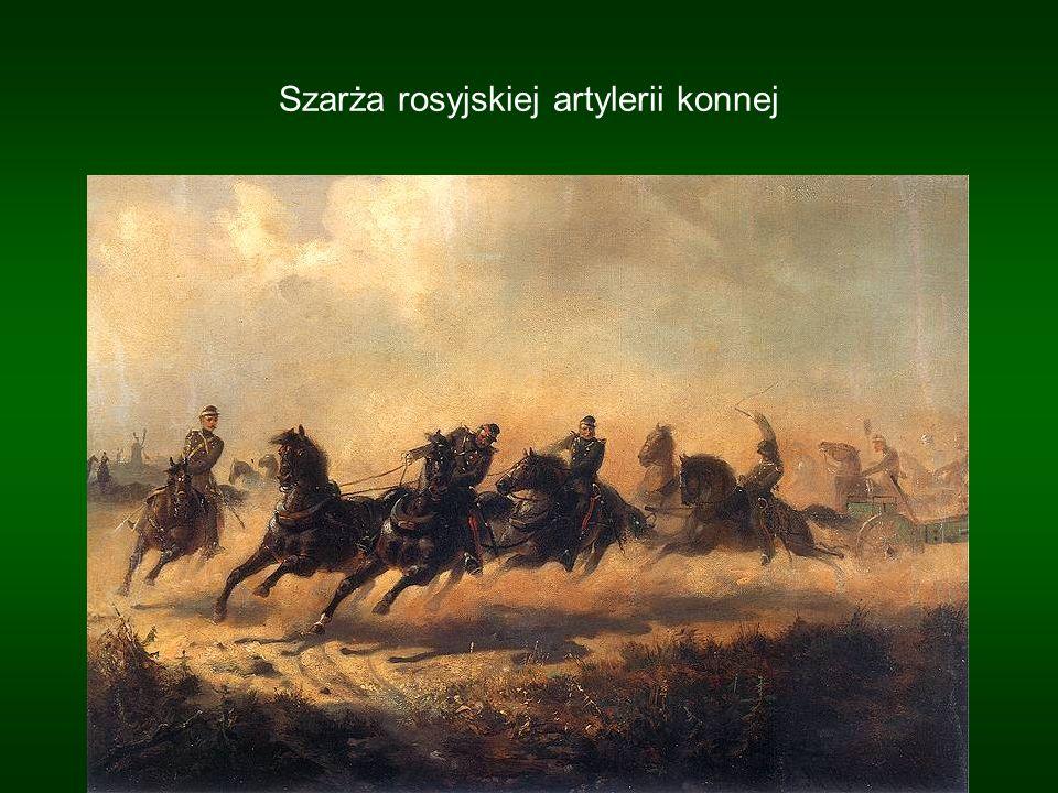 Szarża rosyjskiej artylerii konnej