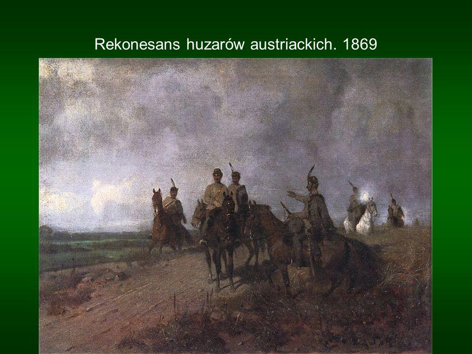 Patrol polski w 1830 roku. 1869