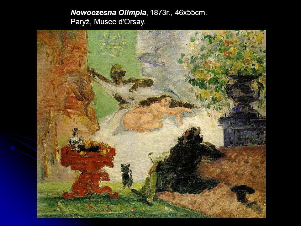 Dom wisielca, 1873r., 55x65cm. Paryż, Musee d Orsay.