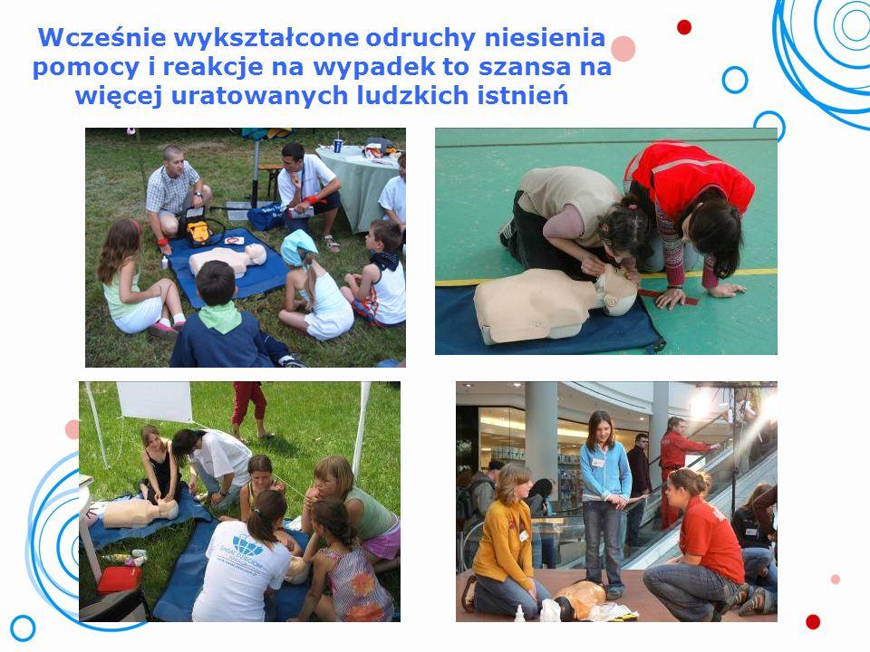 Nauka udzielania pierwszej pomocy może być pobierana już przez dzieci w wieku przedszkolnym!