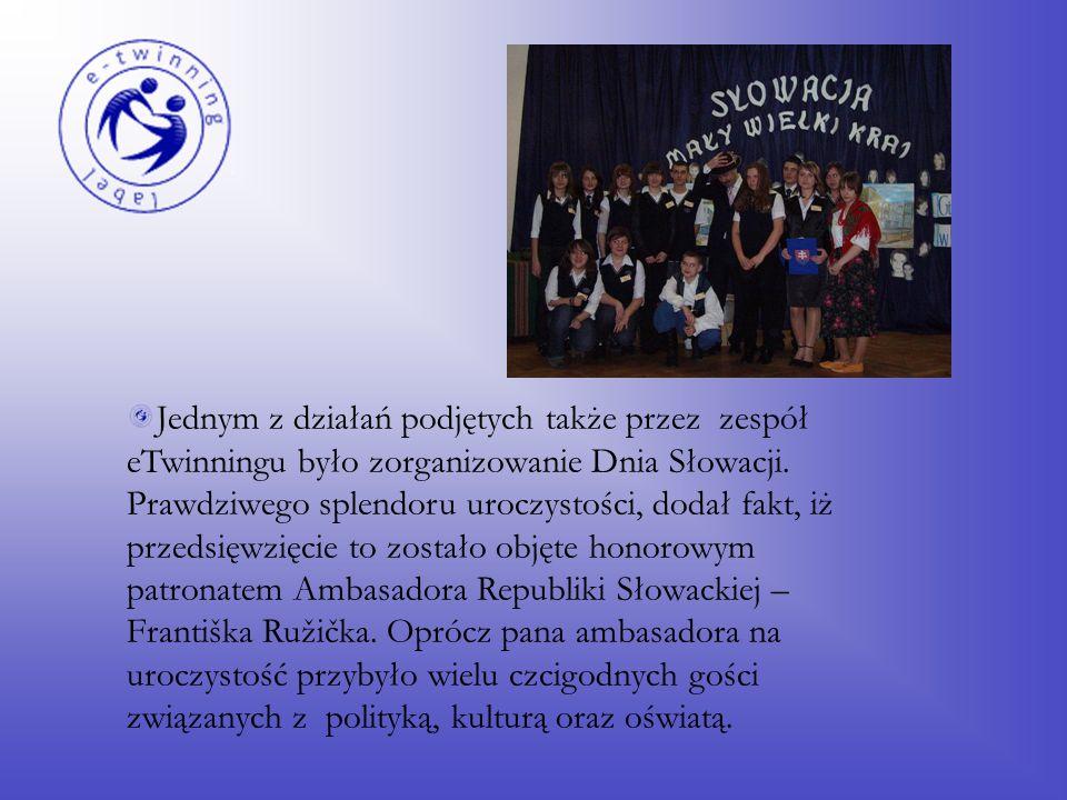 Młodzi ludzie zatem stworzyli prezentacje w programie Power Point na temat swoich krajów partnerskich oraz miast, w których żyją.