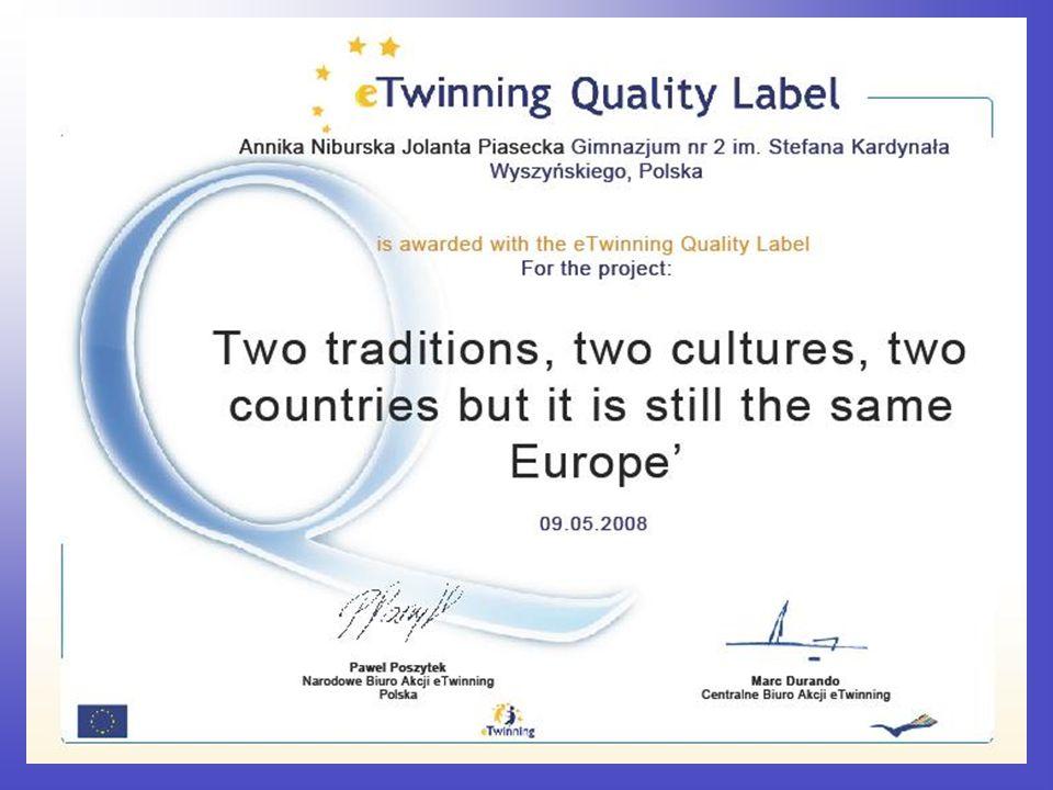 Uczestnicy projektu przygotowali bajki w języku angielskim, a następnie przesłali je słowackim przyjaciołom drogą elektroniczną.