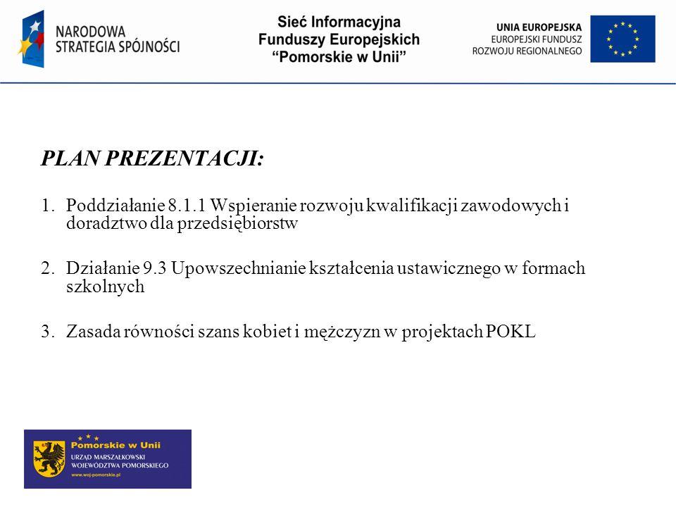 Program Operacyjny Kapitał Ludzki PROGRAM OPERACYJNY KAPITAŁ LUDZKI 2007 – 2013 Priorytet VIII Regionalne kadry gospodarki