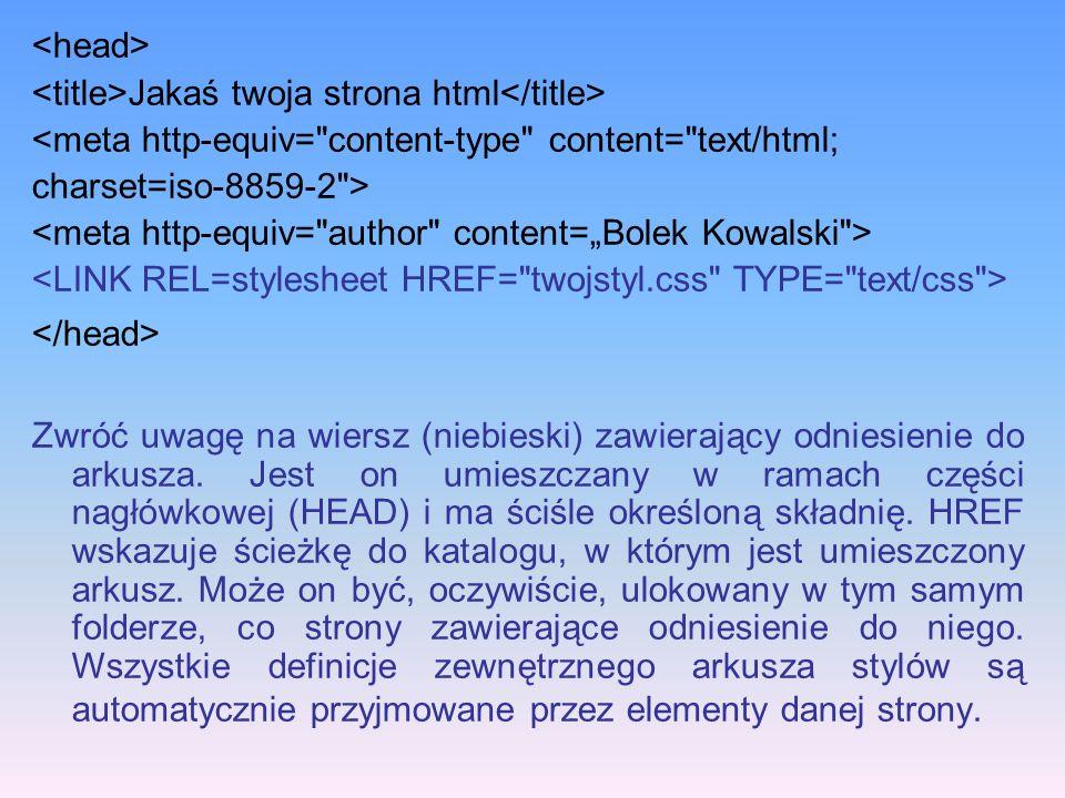 Jakaś twoja strona html <meta http-equiv=