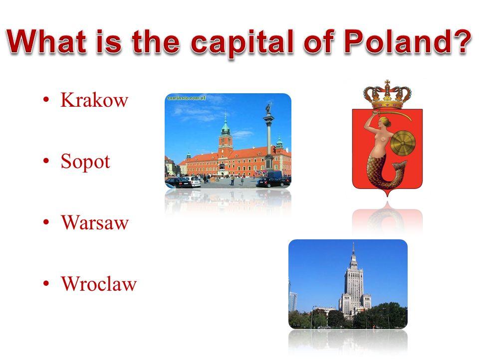 Krakow Sopot Warsaw Wroclaw