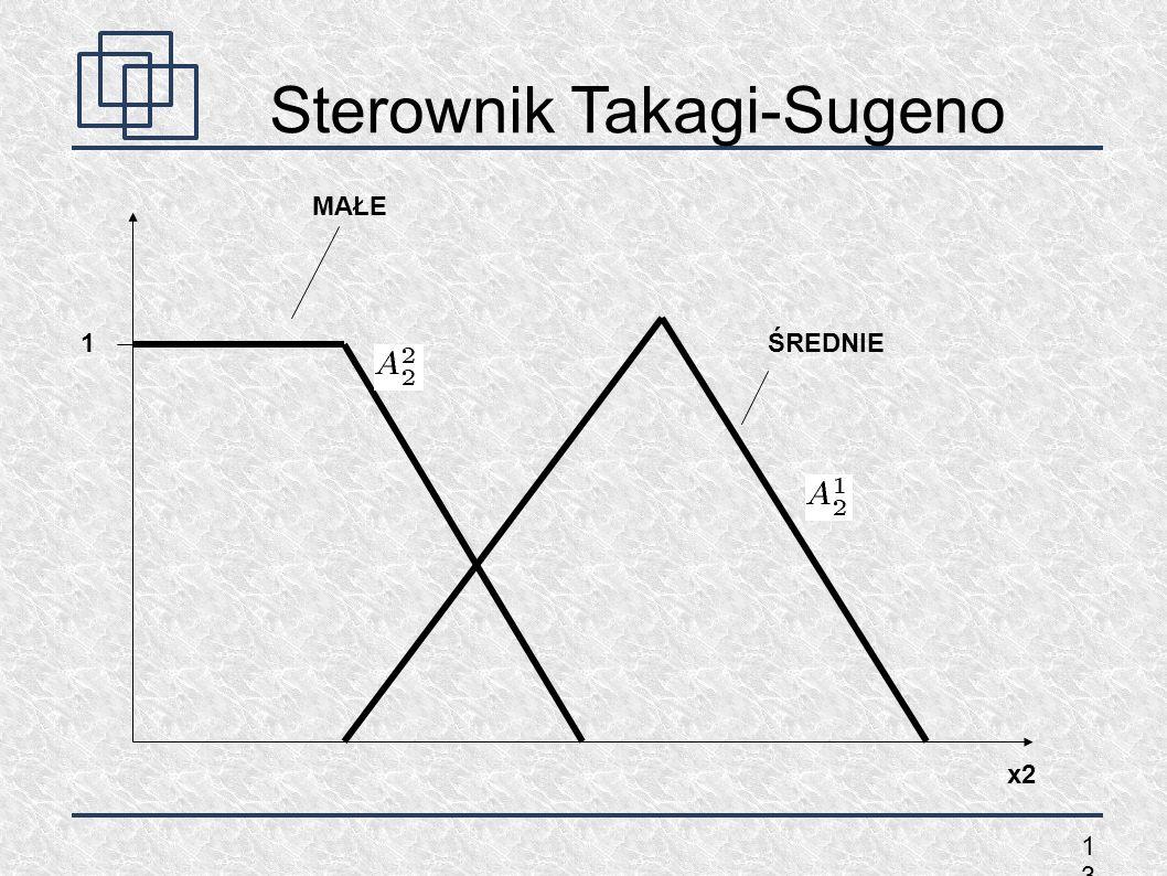 1313 Sterownik Takagi-Sugeno 1 x2 MAŁE ŚREDNIE