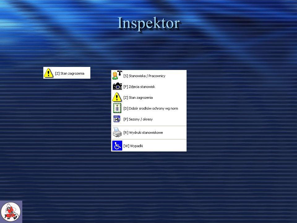 Inspektor - Temperatury