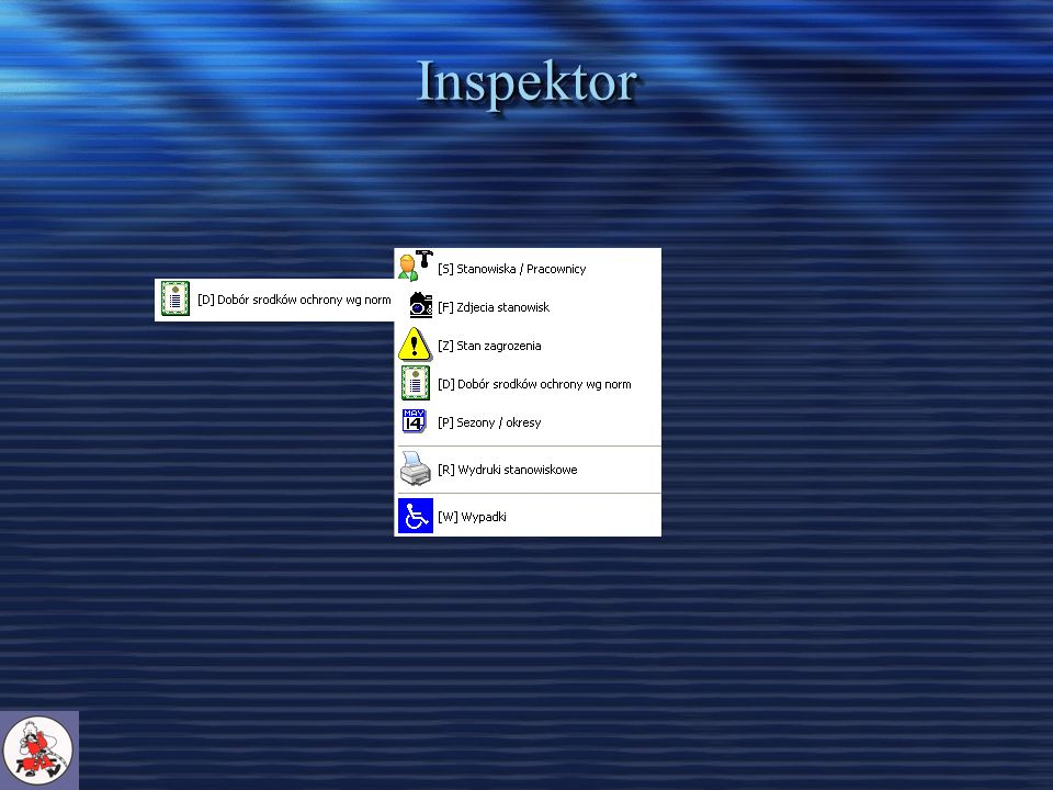 Inspektor – Dobór środków ochrony wg norm