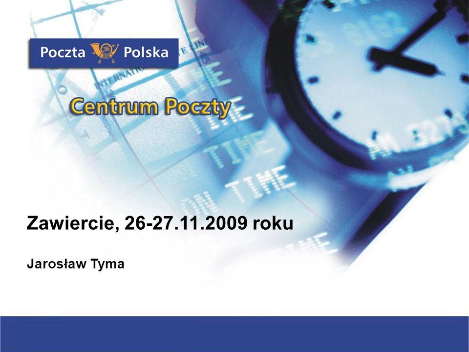 Zawiercie, 26-27.11.2009 roku Jarosław Tyma
