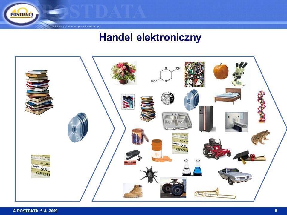 © POSTDATA S.A. 2009 6 Handel elektroniczny