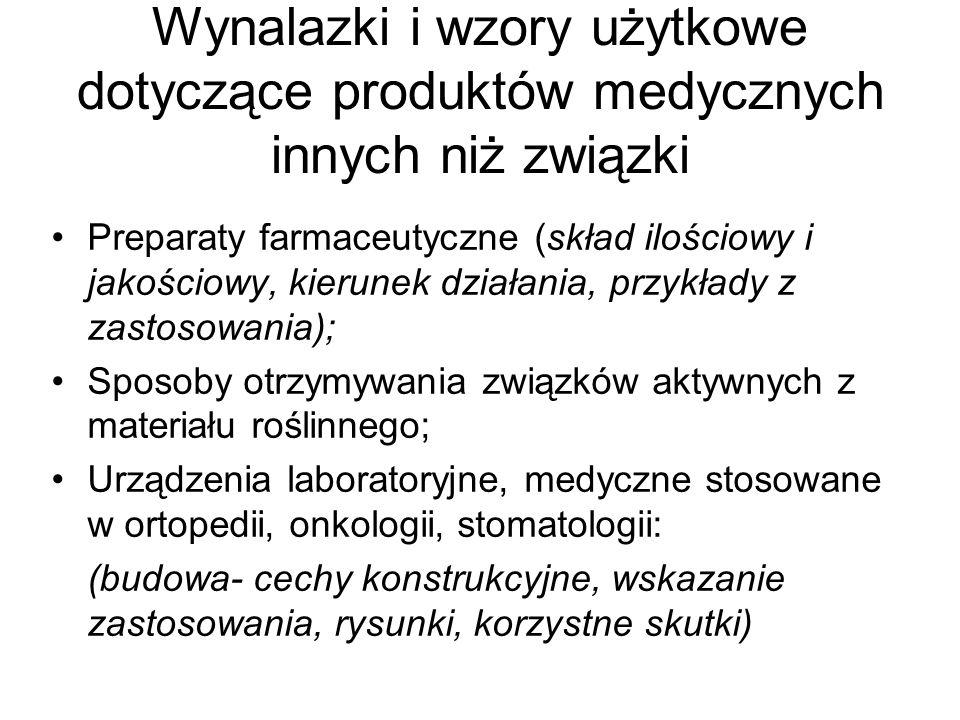 Formy komercjalizacji w Uniwersytecie Medycznym w Lublinie -Licencje, -Współwłasność prawa do patentu/z patentu; -Cesja odpłatna, -Spółka spin off