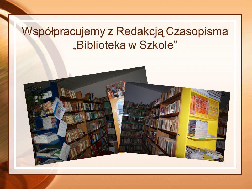 Współpracujemy z Redakcją Czasopisma Biblioteka w Szkole
