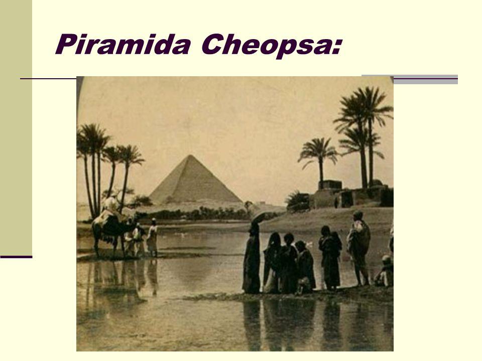 Piramida Cheopsa: