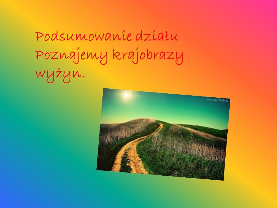 Krajobraz Wyżyny Śląskiej Wyżyna Śląska –to kraina geograficzna w południowej Polsce.