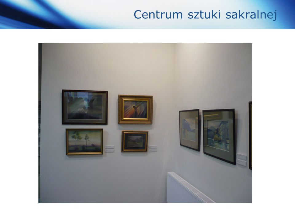 www.themegallery.com Company Logo Centrum sztuki sakralnej