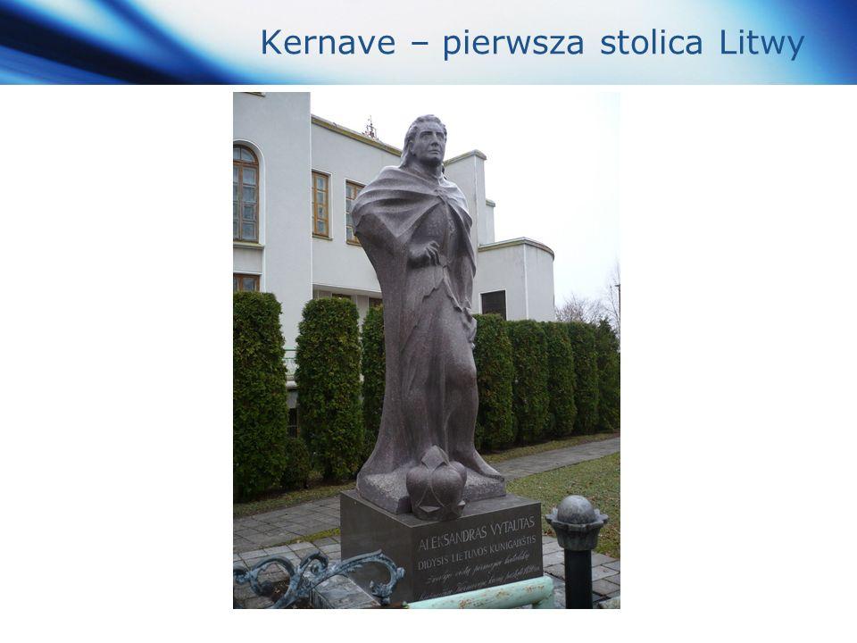 www.themegallery.com Company Logo Kernave – pierwsza stolica Litwy