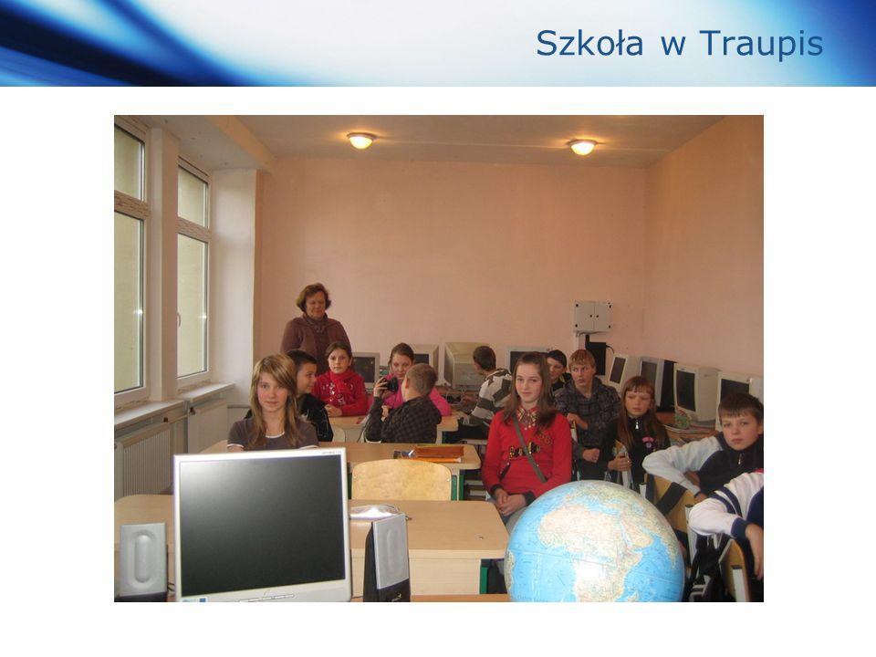 www.themegallery.com Company Logo Szkoła w Traupis