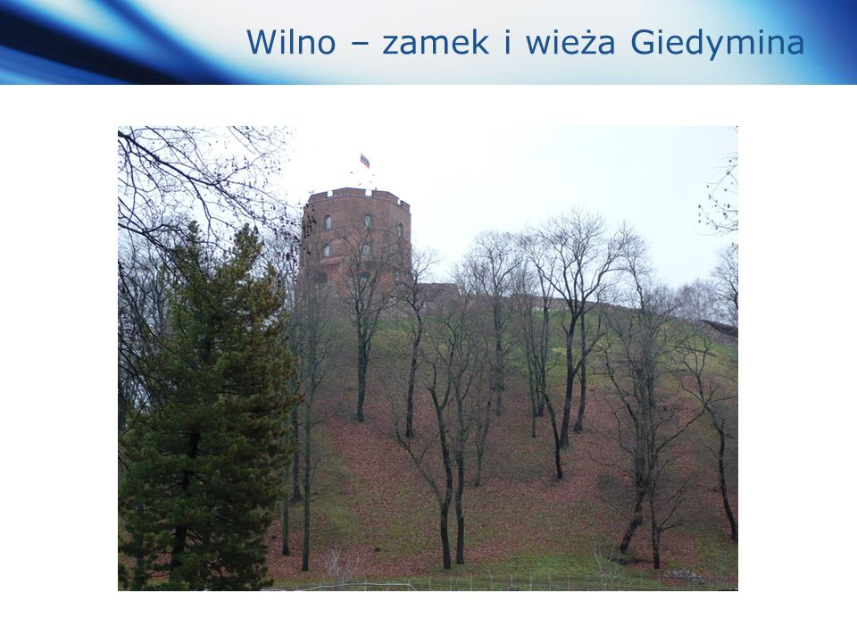 www.themegallery.com Company Logo Wilno – zamek i wieża Giedymina
