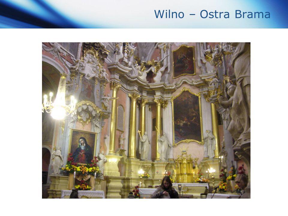 www.themegallery.com Company Logo Wilno – Ostra Brama