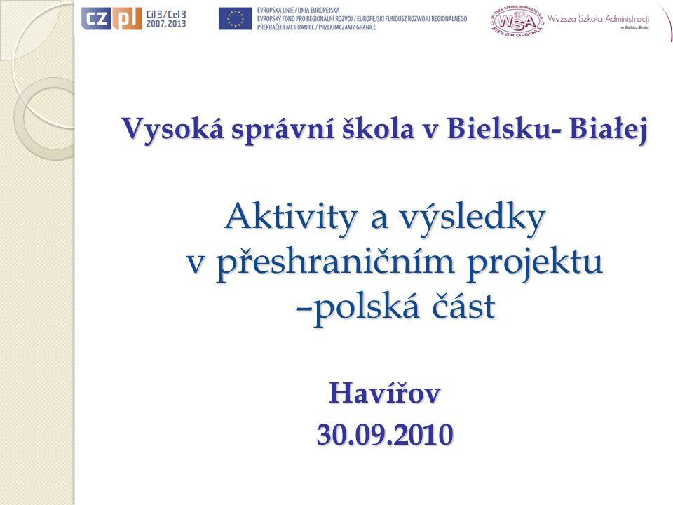 Koncepcja programu Cel studiów -przygotowanie zawodowe grupy animatorów regionalnych, którzy działając w różnych sektorach i w ramach różnych organizacji, będą zdolni inicjować i realizować różnorodne przedsięwzięcia na obszarze Euroregionów polsko-czeskich; - stworzenie personalnej oraz organizacyjnej sieci współpracy transgranicznej.
