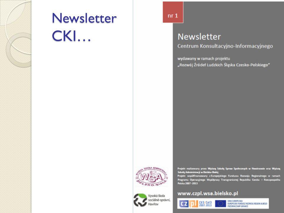 Newsletter CKI… Newsletter CKI…