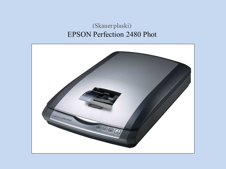 EPSON Perfection 2480 Phot (Skaner płaski)