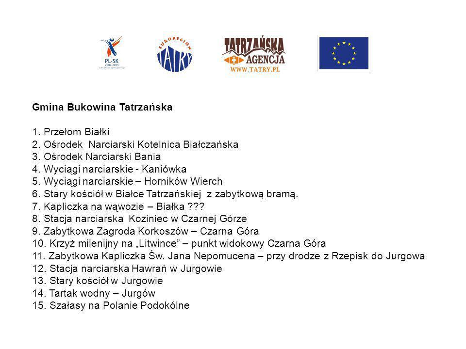 16.Zabytkowa Zagroda Sołtysów w Jurgowie 17. 2 kapliczki na Drodze Umarłych w Rzepiskach ??.
