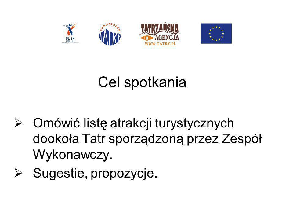 Zespół Wykonawczy: 1.Andrzej Buńda – Dyrektor Gminnego Ośrodka Kultury w Poroninie.
