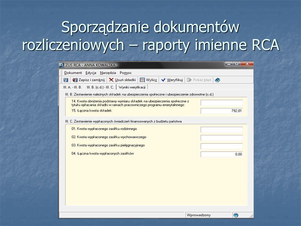Wprowadź podstawy wymiaru składek dla pracownika, a następnie kliknij Wylicz.
