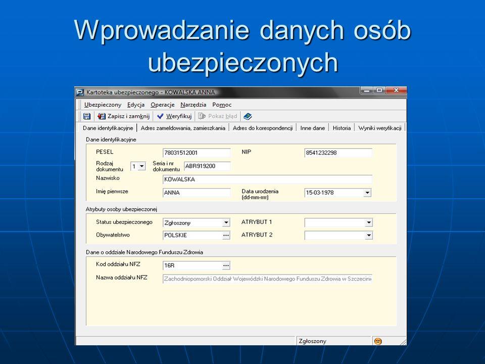 Adres zameldowania, zamieszkania, Adres zameldowania, zamieszkania, Adres do korespondencji, Adres do korespondencji, Po wprowadzeniu danych wybierz przycisk Weryfikuj i sprawdź wyniki weryfikacji, a następnie Zapisz i zamknij Po wprowadzeniu danych wybierz przycisk Weryfikuj i sprawdź wyniki weryfikacji, a następnie Zapisz i zamknij