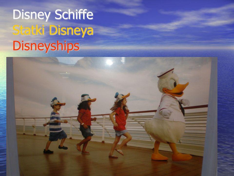 Disney Schiffe Statki Disneya Disneyships