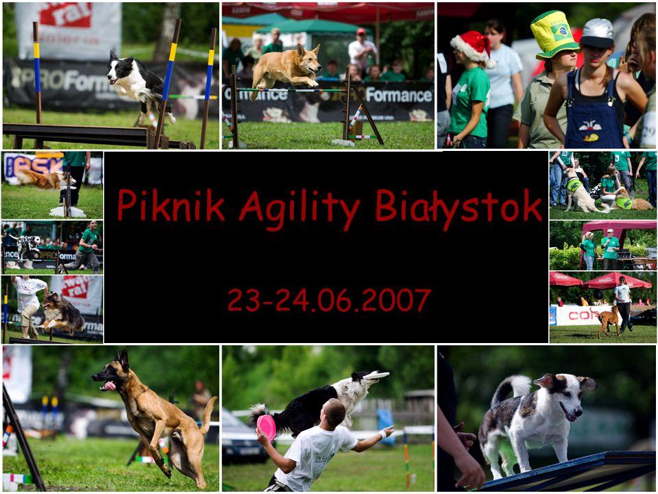Piknik Agility Białystok 23-24.06.2007