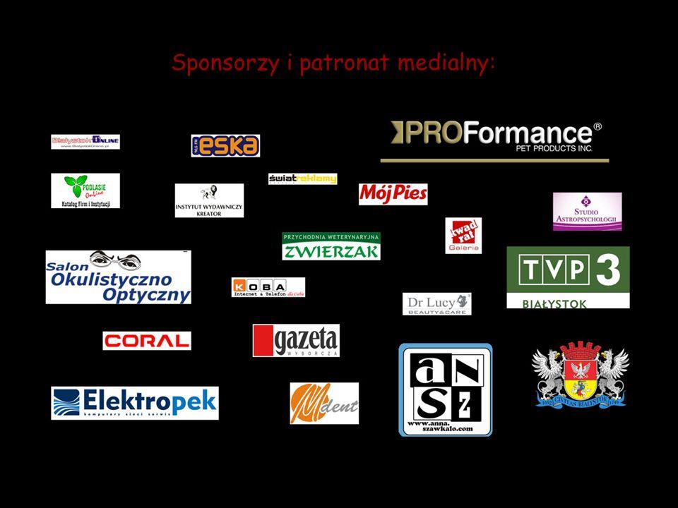 Sponsorzy i patronat medialny: