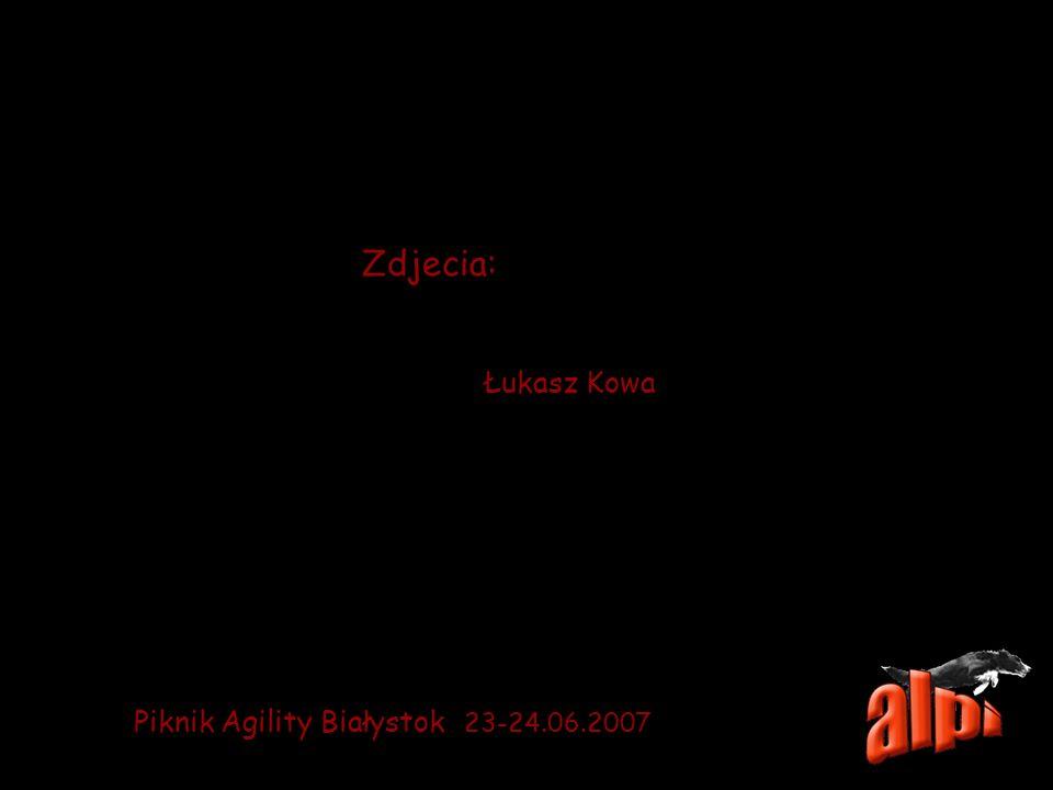 Zdjecia: Łukasz Kowa Piknik Agility Białystok 23-24.06.2007